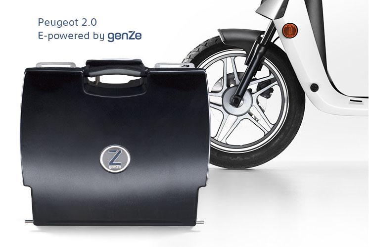 scooter electrique peugeot 2.0 moteur