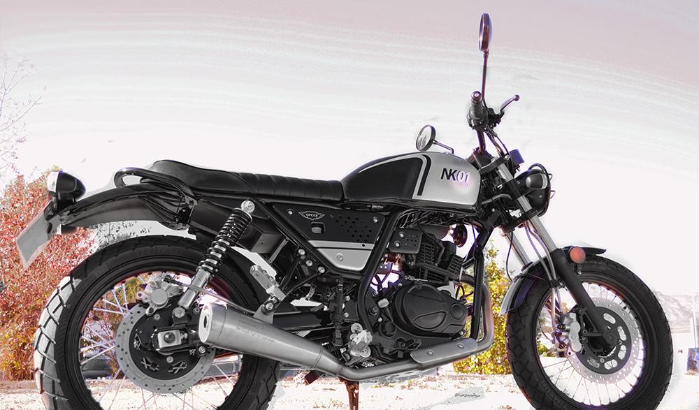 Moto Orcal nk01 125