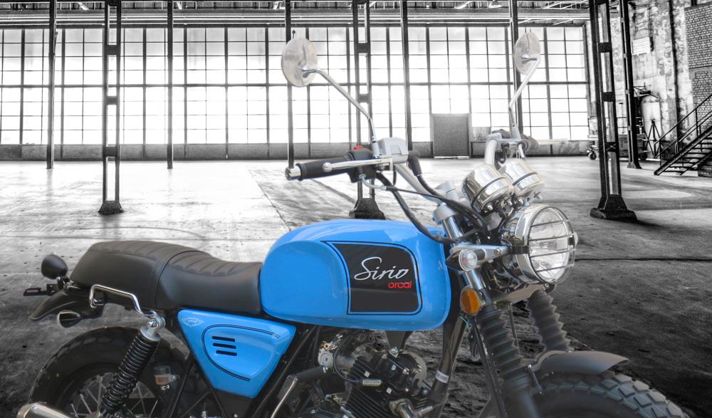 Moto Orcal Sirio 125 marseille