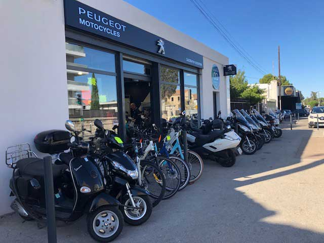 magasin Peugeot scooter Marseille moto orcal swm caldentey