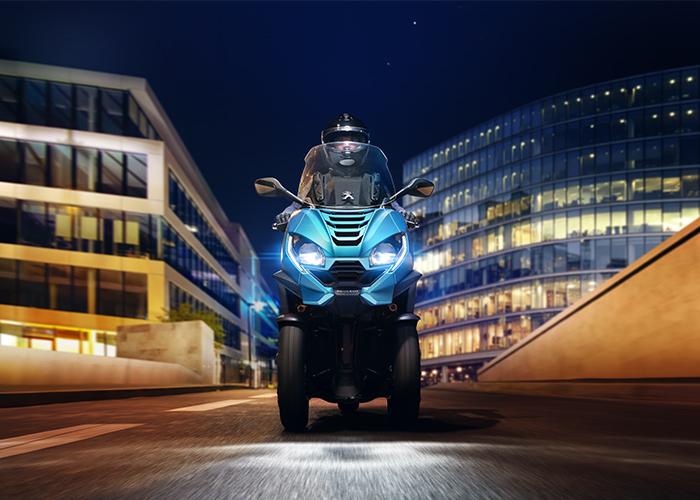 scooter peugeot nouveau metropolis 2020