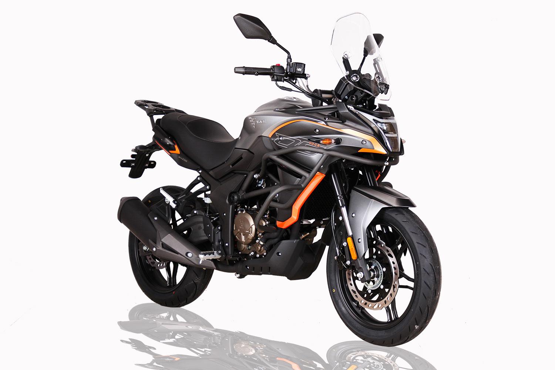 nouvelle moto voge 300DS grise 2021 euro 5